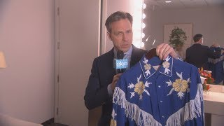 Jake Tapper Keeps Interrupting Ellen with Breaking Fashion News