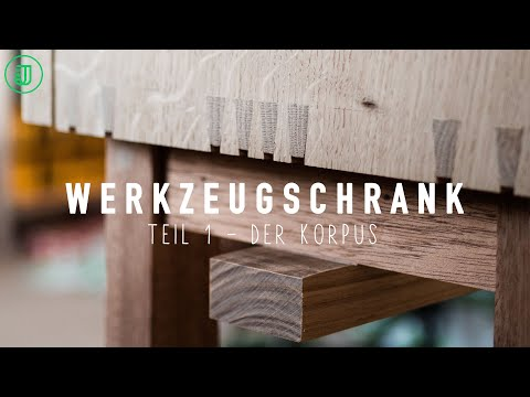 Werkzeugschrank selber bauen: Der Korpus | Jonas Winkler