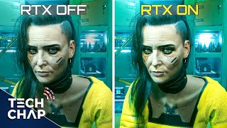 CyberPunk Ray Tracing & DLSS Tested! (3060Ti vs 3070 vs 3080 vs 3090)