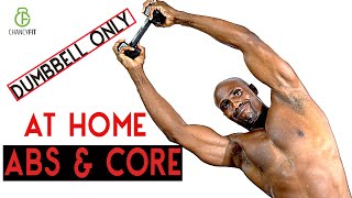 ABS WORKOUT | CORE AND ABS WORKOUT AT HOME (Dumbbell Only)