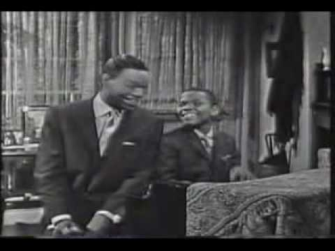 11-Year-Old Billy Preston & Nat 'King' Cole - Blueberry Hill 1957.flv