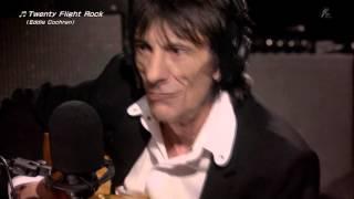 ザ・ロニ-・ウッドショー「ポール・マッマッカートニー「TwentyFlightRockEddieCochran」