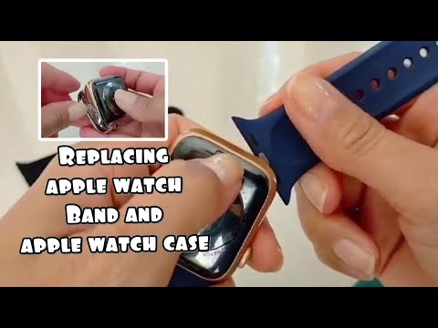 HOW TO REMOVE AND CHANGE APPLE WATCH BAND | APPLE WATCH CASE INSTALLATION