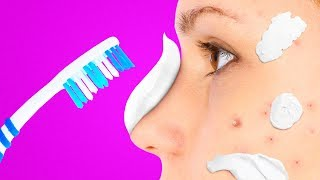 31 CRAZY TRICKS WITH TOOTHPASTE YOU NEVER IMAGINED