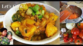 POTATO & BEANS POTTAGE Inspired By SisiYemmie ! Americanized Nigerian Food!