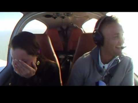 This Guy Proposed To His Girlfriend By Faking A Plane Crash