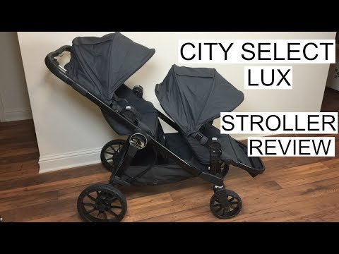CITY SELECT LUX STROLLER REVIEW | Baby Jogger | Tara Henderson