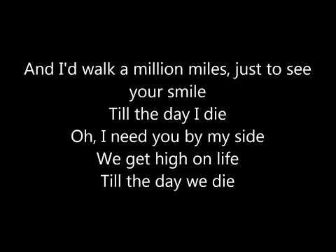 Martin Garrix feat  Bonn - High on Life ( LYRICS )