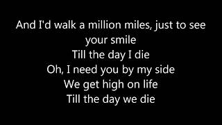 Martin Garrix Feat  Bonn   High On Life ( LYRICS )