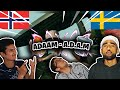 IT WENT VIRAL!!! Norwegians React To (Swedish Rap) Reacting Til ADAAM - A.D.A.M (OFFICIAL VIDEO)