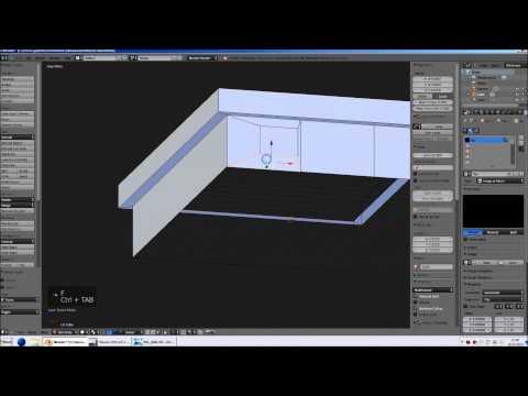 Blender für Zusianer (4): Modellieren - Subdivide, Knife