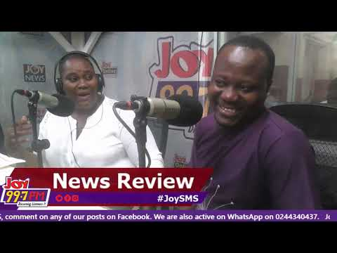#JoySMS Newspaper Review on Joy FM (29-10-18)