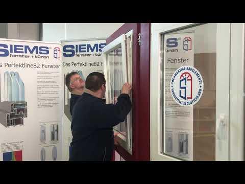 SIEMS Dreh-Kippfenster einstellen