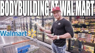 MEAL PREP GROCERY SHOPPING AT WAL MART | Bodybuilding On A Budget