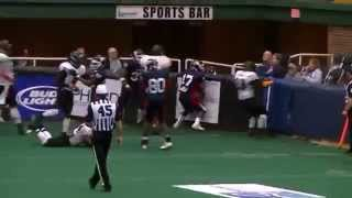 preview picture of video 'Port Huron Patriots -v- Chicago Pythons 2012'