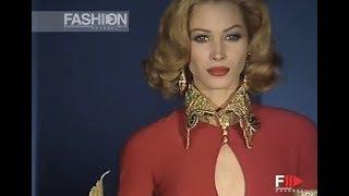 GIANFRANCO FERRE' Fall Winter 1992 1993 Milan - Fashion Channel