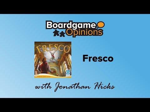 Boardgame Opinions: Fresco