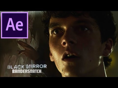 Black Mirror: Bandersnatch | Trippy After Effects Tutorial (Liquify Visuals)