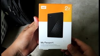 WD My Passport 2TB! Unboxing, and Installation Guide, Full Review