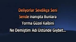 Serdar Ortaç Gıybet  KARAOKE  Www Karaokeck Com    YouTube