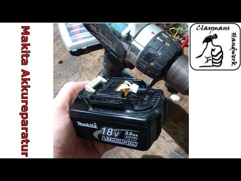 Makita 18V Akku DEFEKT? Reparieren eines BL1830 - Battery Repair