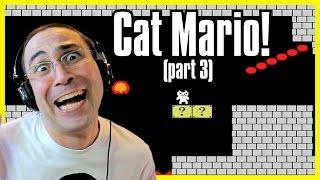 Τελειώσαμε το CAT MARIO! (Cat Mario #3)