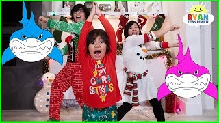 Baby Shark Dance with Ryan | Kids Songs Nursery Rhymes Sing and Dance