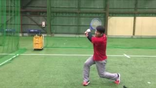 「ラケットの面を使って、バッティングにおける両手の動かし方」(ブリスフィールド東大阪 野球教室 平下コーチ(元阪神タイガース))