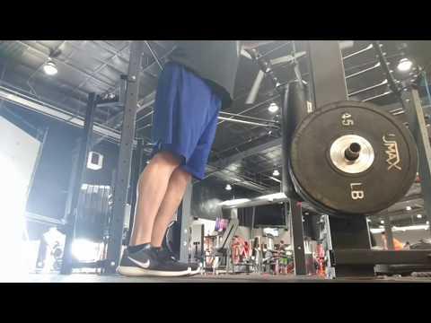 Bodyweight calf raises on floor