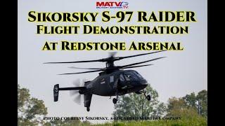 Sikorsky S-97 Raider Flight Demonstration