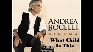 """Andrea Bocelli """"live"""" con Rita Ora- """"What Child Is This"""""""