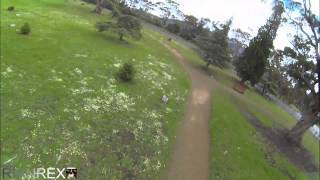 Mini FPV Quadcopter speed testing with a Gopro and 3s upgrade motors