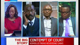 What happens when someone fails to obey court orders: The Big Story