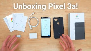 Pixel 3a Unboxing - What's Included!
