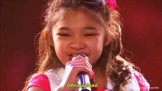 Angelica Hale cantando Girl On Fire by Alicia Keys