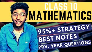 Class 10 Maths Boards Strategy   How to Score 95% in Boards 2021