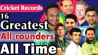 16 Greatest All-rounders All Time in Cricket