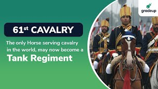 61st Cavalry | The only Horse Serving Regiment in the World | Indian Army