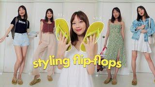 How I Style FLIP-FLOPS 🌴