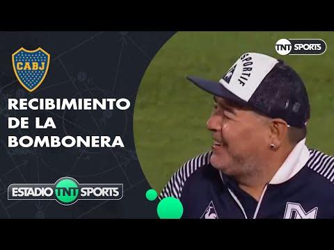 Maradona fue homenajeado en La Bombonera