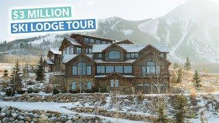 Our $3,000,000 Ski Mansion Tour   Colorado USA Vlog
