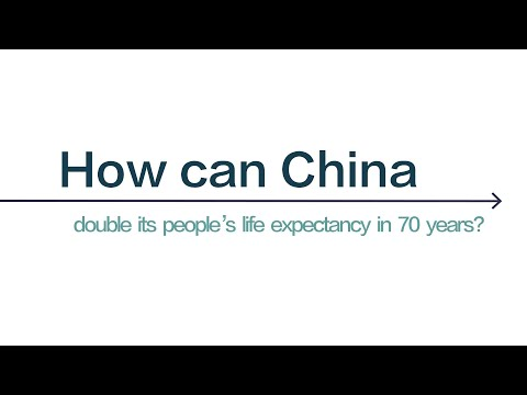 Explore #HowChinaCan more than double life expectancy