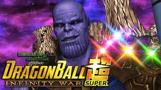 Thanos vs Goku | DBZ INFINITY WAR | DBZ Tenkaichi 3 (MOD)