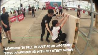 GetActive! Singapore With A2 Pakour Movements