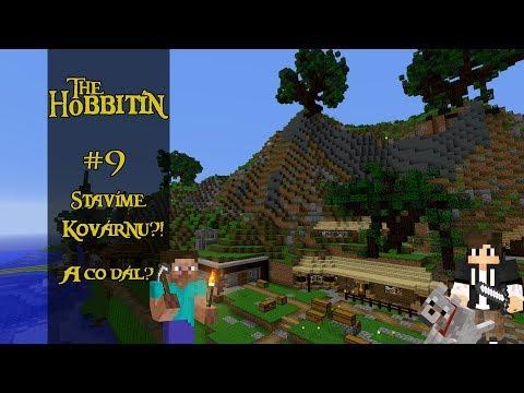 Hobbití Městečko [ stavíme kovárnu a co dál? ] #9