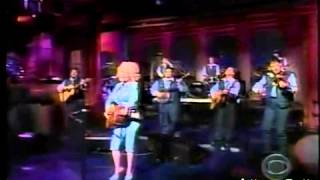 Dolly Parton Dagger Through The Heart on Letterman