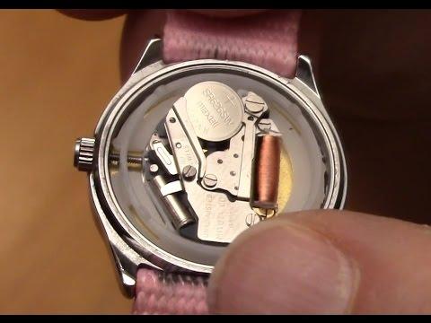 Uhrenbatterien tauschen