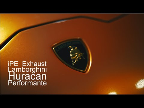 iPE Exhaust Lamborghini Huracan Performante