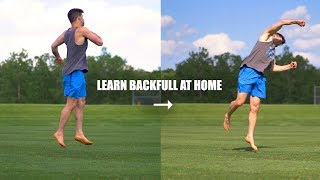 Learn Back Full Fast by Turning a 360 Into a Backflip Spin
