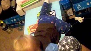 climbing on toybox.AVI